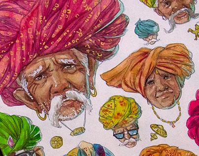 INDIA ILLUSTRATIONS ( SEPT-NOV 2020 )