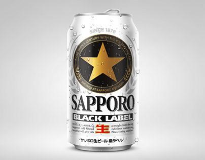 Sapporo Beer Design concept