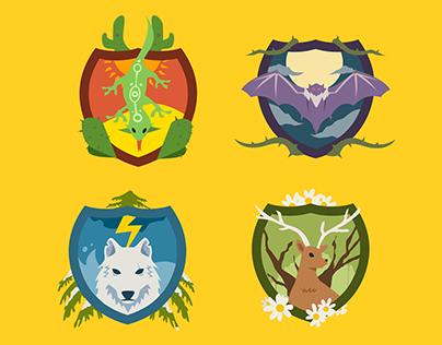 The Kingdoms of Terra Iris - Illustrations