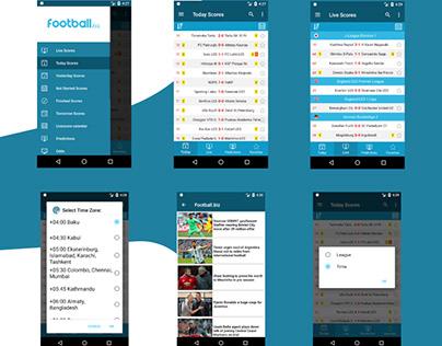Football.biz LiveScore Application