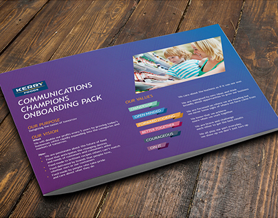 Communications pack for Kerry Foods