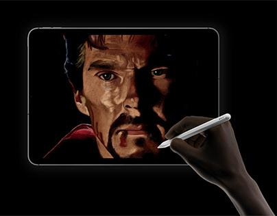 Digital Portraits in Adobe Fresco