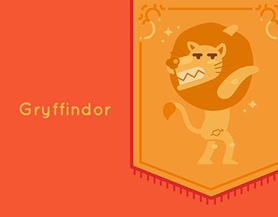 Harry Potter Illustrations: Gryffindor