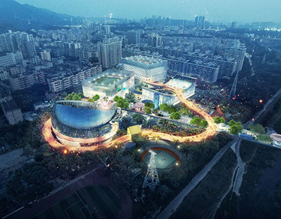MVRDV WINS THE COMPETITION FOR NEW SPORTS AND CULTURAL
