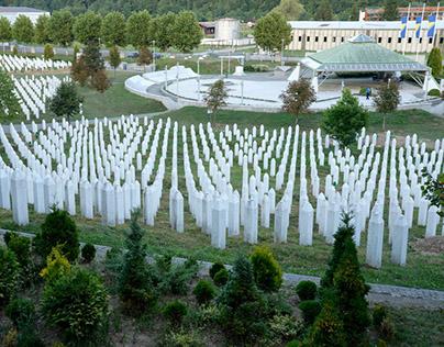 In Srebrenica Genocide Memorial: a selection