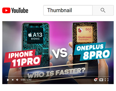 YouTube Thumbnail - Technology Videos