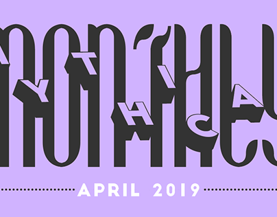 Mythical Monthly Typography