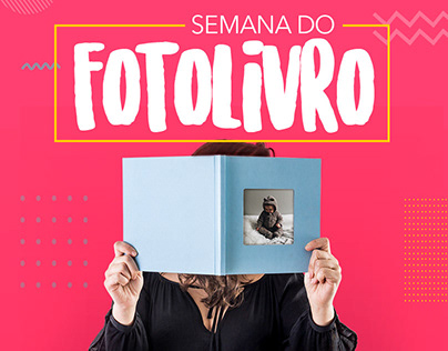 Campanha Semana do Fotolivro | FotoRegistro
