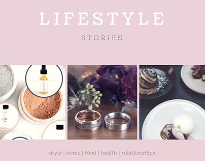 Lifestyle: Fashion, Food, Home, Health, Dating