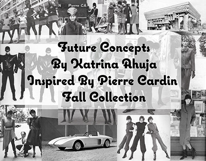 Fall Collection Inspired by Pierre Cardin