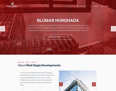 Wadi Degla Website UI /UX Design [Concept]