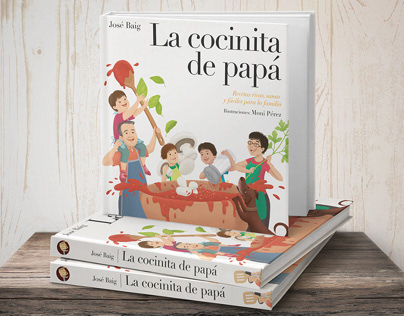 Libro La cocinita de papá / Editorial