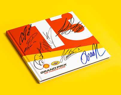 Shell Pennzoil Grand Prix book