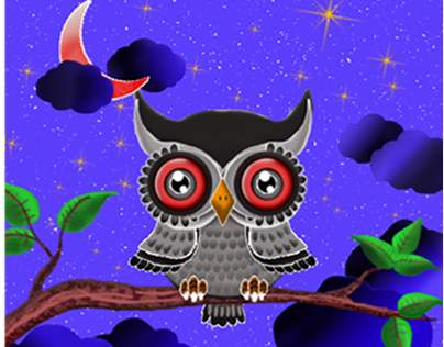Owl in Photoshop