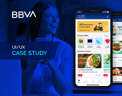 BBVA Beneficios - Mobile App Redesign