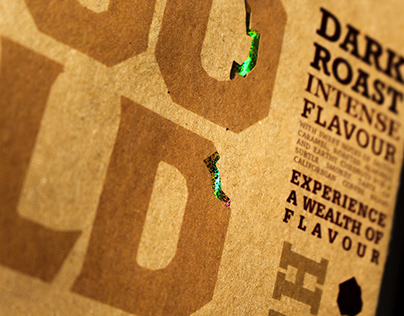Goldrush - Coffee Packaging Design