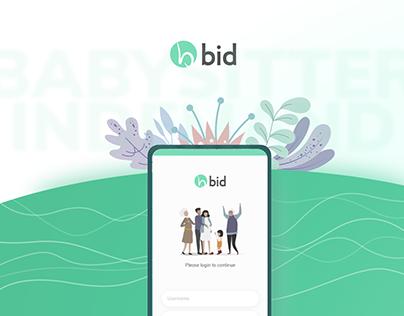 Babysitter In Demand - BID Mobile App