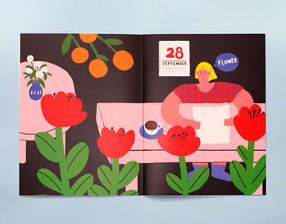 Self-Publishing Zine - flower 自出版Zine《flower》