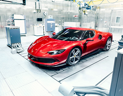 Ferrari 296 GTB - shaken not stirred