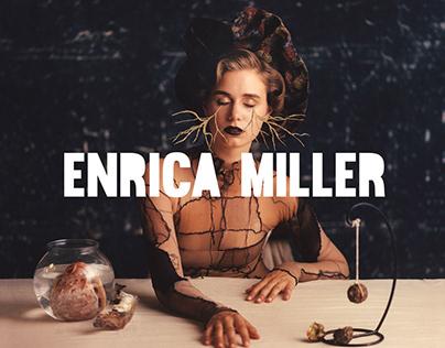 Enrica Miller L O G O T Y P E