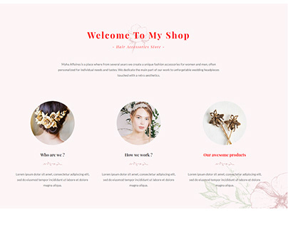 WordPress E-Commerce Website