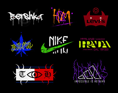 Redesigning Large Brands As Rock Bands