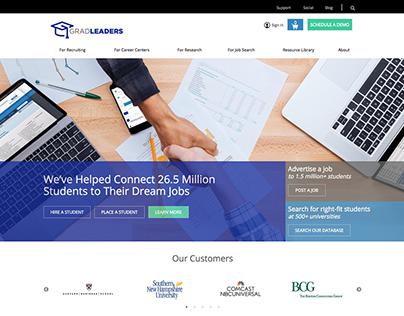 GradLeaders | Website