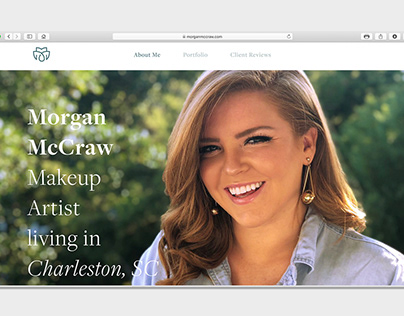 branding and web design for Morgan McCraw