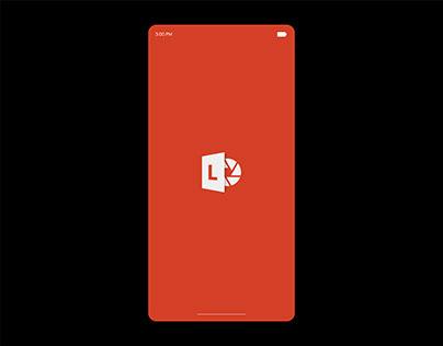 Office Lens Gallery Design | UIUX