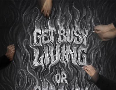 Stephen King Chalkboard