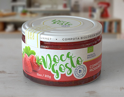 Packaging Design and CGI to Doce Gosto Gourmet