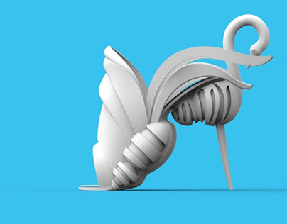THE SWAN - series of animal inspired shoes for 3D print