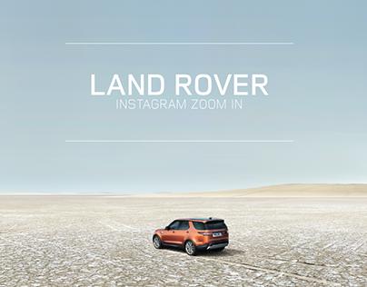 LAND ROVER Instagram Zoom In