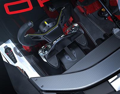 Porsche 908-04 Vision GT - INTERIOR