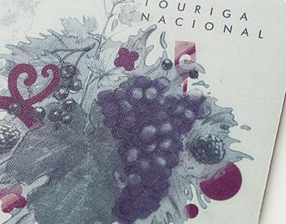 Wines of Portugal wine coasters