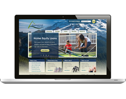 MountainCrest Credit Union website