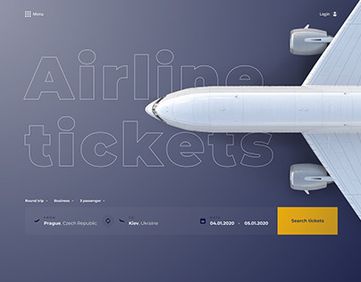 Website for finding and buying plane tickets