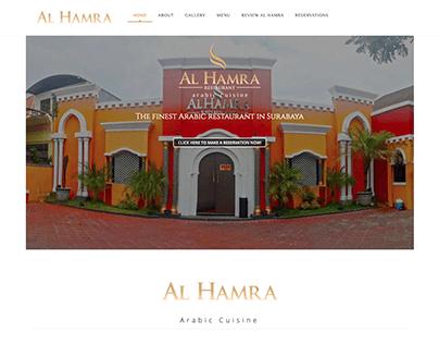 Alhamra Restaurant Website