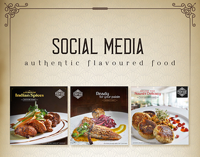 Social Media (Royal food Designs)