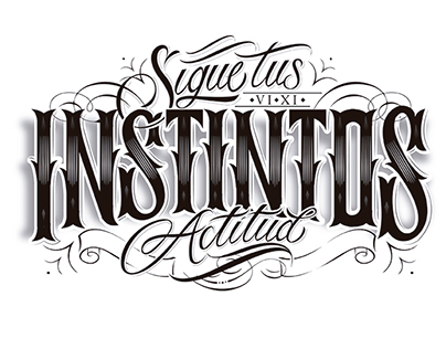 Calligraphy Tattoo Design #Linotypo