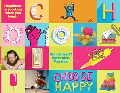Koodo | Choose HAPPY Branding & Masthead