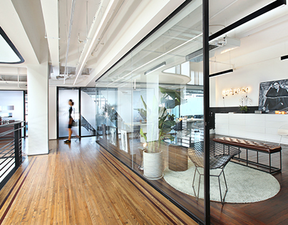Showroom and office in Shanghai, China.