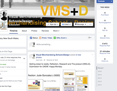 Closer to Reality: Reflection, Research & Product VMS+D
