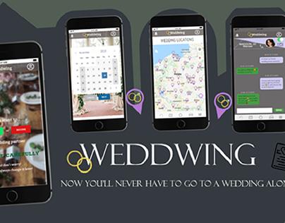 Weddwing - mobile app UX/UI