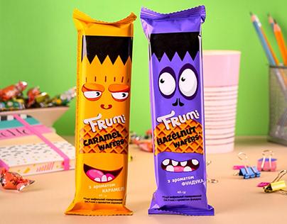 Sweets advertising | Frumi brand