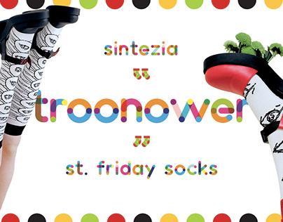 Sintezia x Troonower x St.friday socks – collaboration
