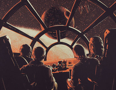 """Star Wars"" by Juan Esteban Rodríguez for Bottleneck"