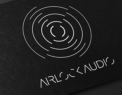 Airlock Audio - Business card design