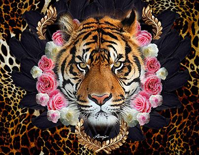 Tigre Penas e Flores Localizada - Verão 2016