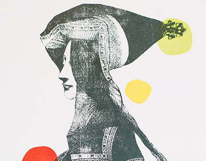 Les PRÉCIEUSES, screen prints on wood, 2013